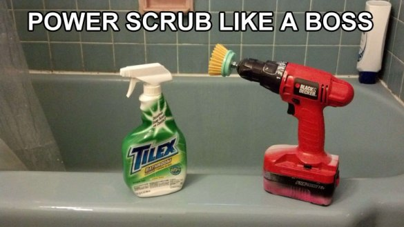 Power Scrub Life Hack